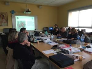 Professors en una sessió formativa sobre bullying