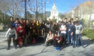 Alumnes de francés del col·legi la Baronia Sant Antoni Abat