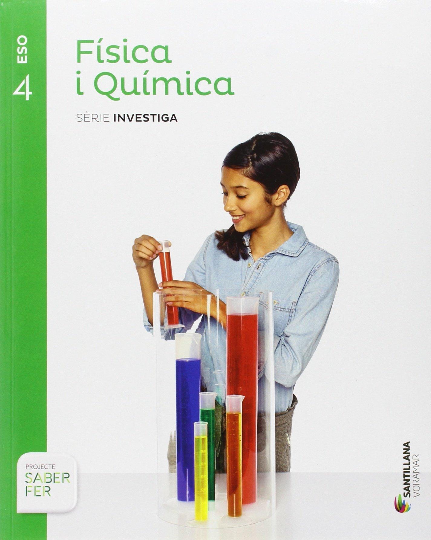 FÍSICA I QUÍMICA Opció de Ciències – 4 ESO