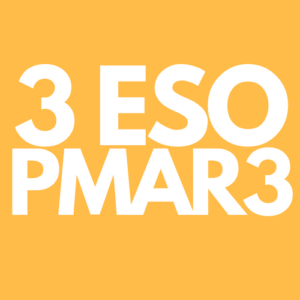 Llibres / Libros 3 ESO - PMAR3