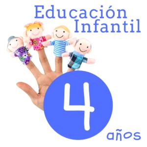 Libros 4 años - Infantil